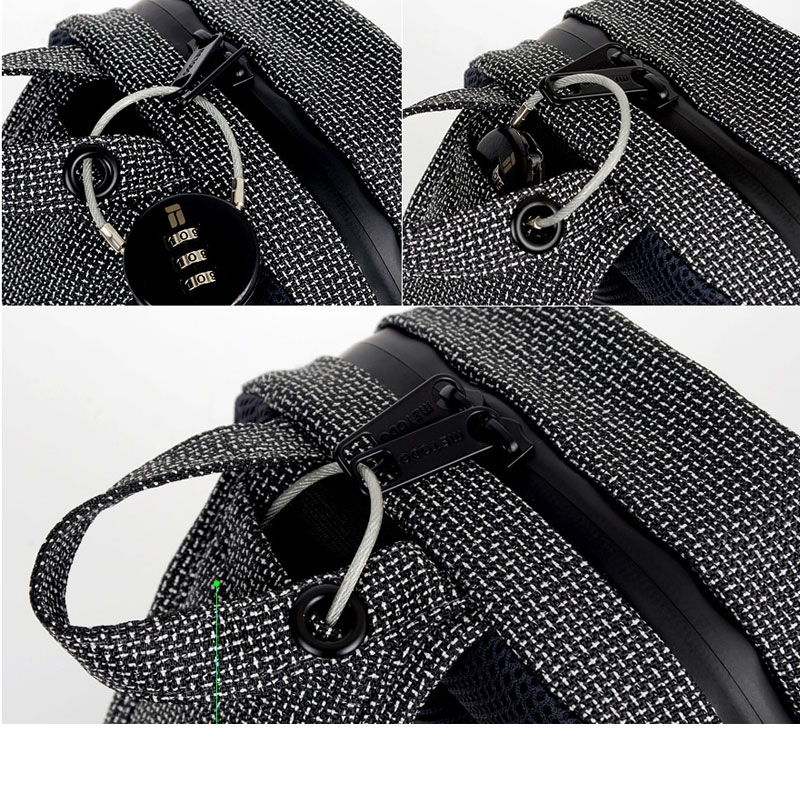 Anti-theft cross bag M